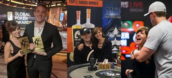 Alex Foxen和Kristen Bicknell德州撲克情侶牌手攜手共度餘生 完美的一對