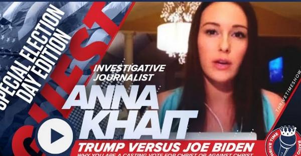 Anna Khait否認關於她與間諜活動有關的報導