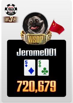 WSOP線上金手鍊爭霸賽 衛星賽直奔勇闖WSOP超級豪客賽季軍